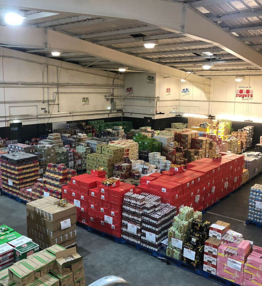 Rogers Wholesale Foods: Home